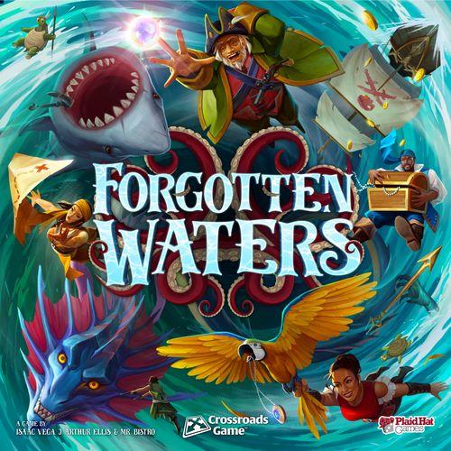 Stalo žaidimas Forgotten Waters A Crossroads Game