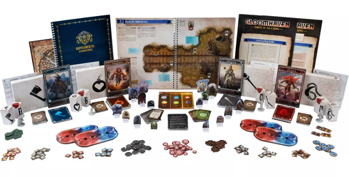 Stalo žaidimas Gloomhaven - Jaws of the Lion