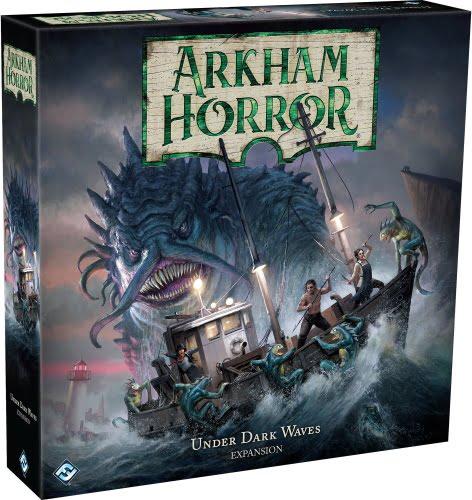 Stalo žaidimas Arkham Horror Under Dark Waves