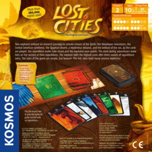 Stalo žaidimas Lost Cities The Card Game