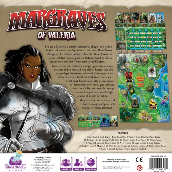 Stalo žaidimas Margraves of Valeria