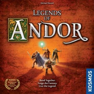 Stalo žaidimas Legends of Andor