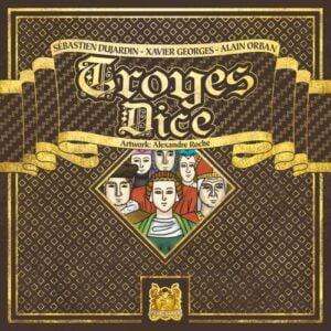 Stalo žaidimas Troyes Dice