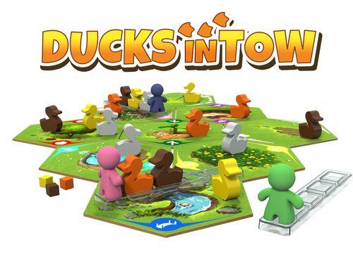 Stalo žaidimas Ducks in Tow