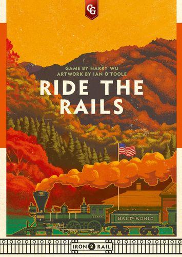Stalo žaidimas Iron Rail - Ride the Rails