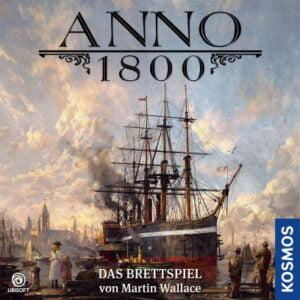 Stalo žaidimas Anno 1800 (vokiečių kalba)