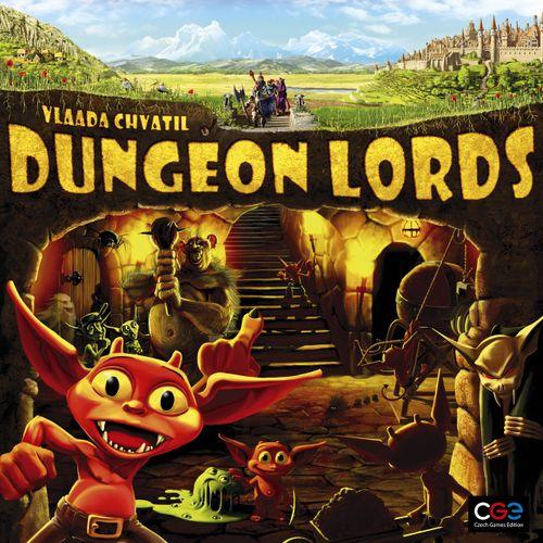 Stalo žaidimas Dungeon Lords
