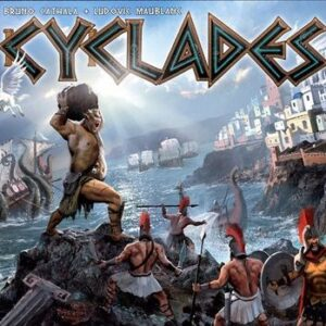 Stalo žaidimas Cyclades