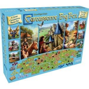 Carcassonne Big Box (vokiška versija su EN taisyklėmis)