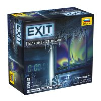 Stalo žaidimas Exit: The Polar Station (RU kalba)