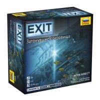 Stalo žaidimas Exit: The Sunken Treasure (RU kalba)