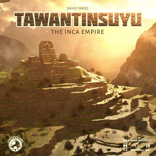 Stalo žaidimas Tawantinsuyu The Inca Empire -