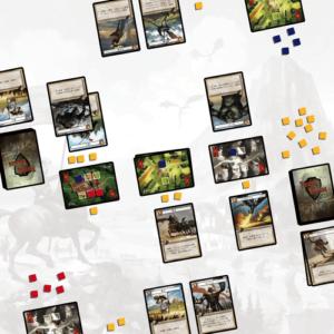 Stalo žaidimas Twelve Heroes