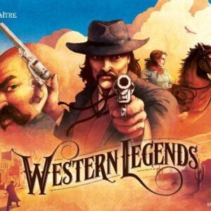 Stalo žaidimas Western Legends