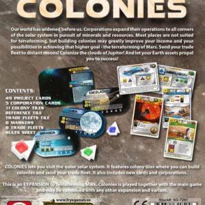 Stalo žaidimas Terraforming Mars - The Colonies