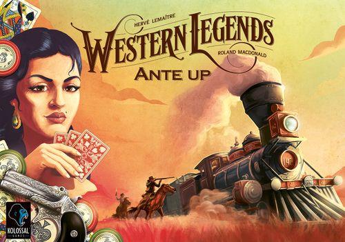 Stalo žaidimas Western Legends: Ante Up