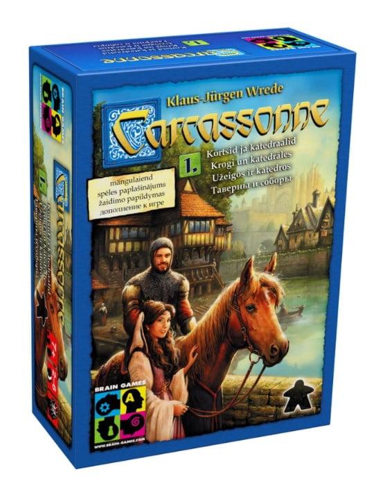 Carcassonne Inns & Cathedrals (LT versija)