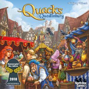 Stalo žaidimas The Quacks of Quedlinburg