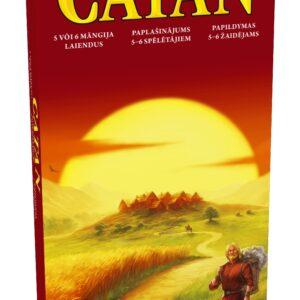 Catan 5-6 žaidėjų papildymas