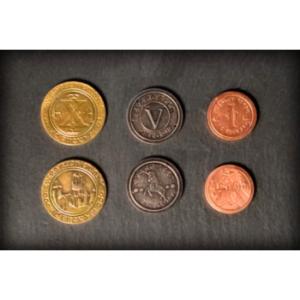 Metal Medieval Coins (50)