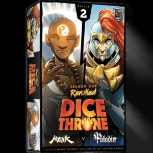 Dice Throne: Season One ReRolled – Monk v. Paladin