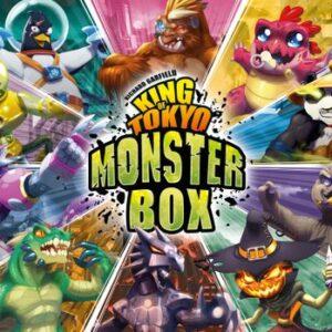 King of Tokyo Monster Box