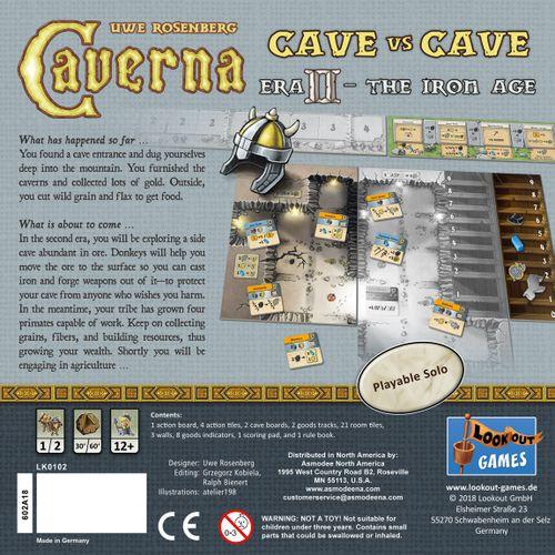 Caverna Cave vs Cave Era II