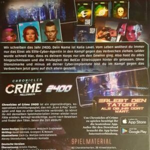 Chronicles Of Crime 2400